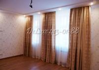 Длинные густые шторы